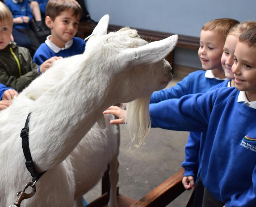 Reception Children at Holy Trinity School