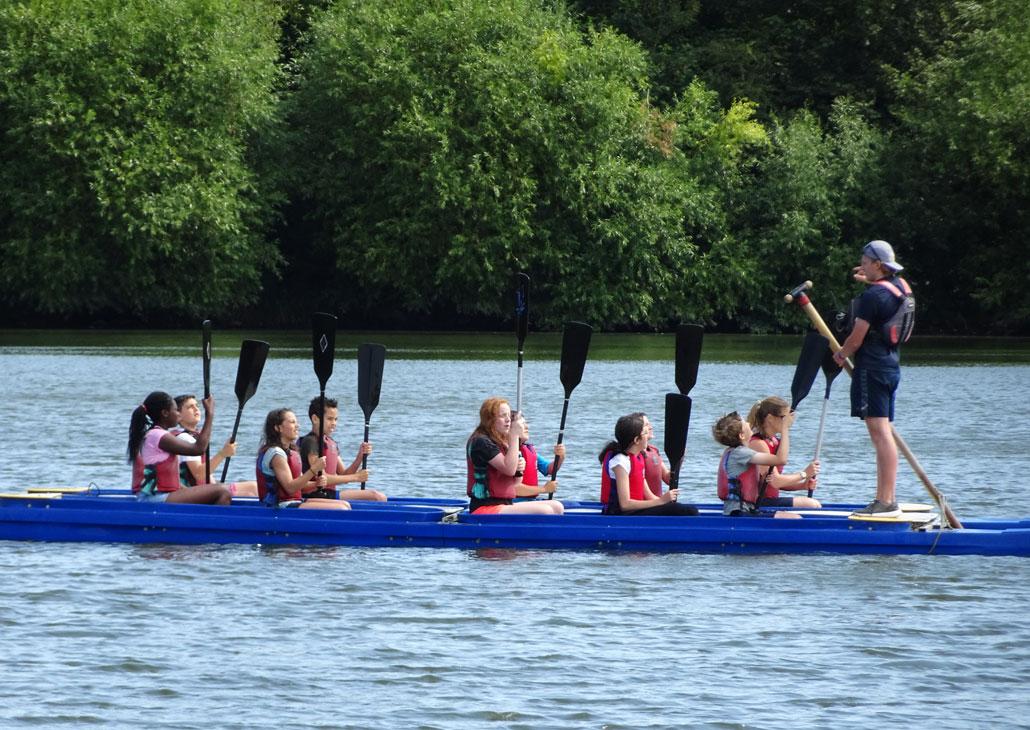 Holy Trinity School Trip Kayaking