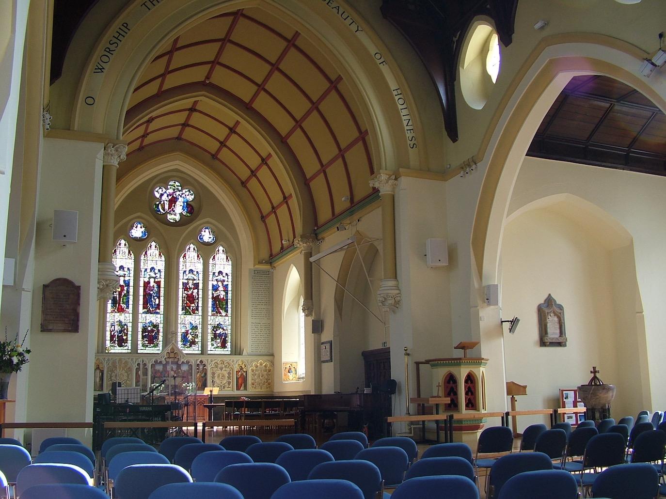 Inside Holy Trinity Church Richmond Upon Thames