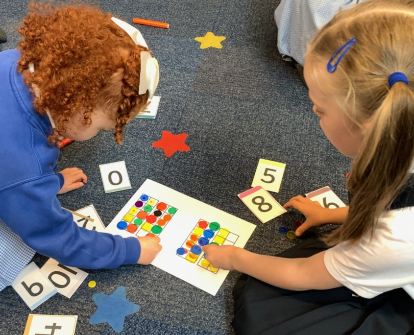 Maths at Holy Trinity School