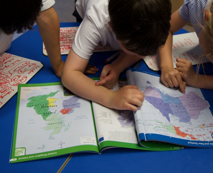 Geography at Holy Trinity School