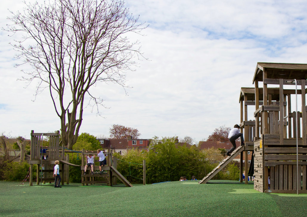 Fort at Holy Trinity School